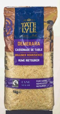 TATE & LYLE FAIRTRADE ROHRZUCKER BRAUN 1000G