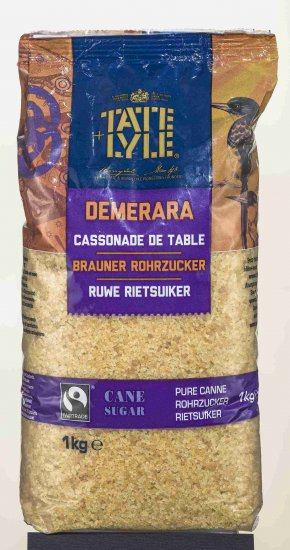 TATE & LYLE FAIRTRADE ROHRZUCKER BRAUN 1000G - Click Image to Close