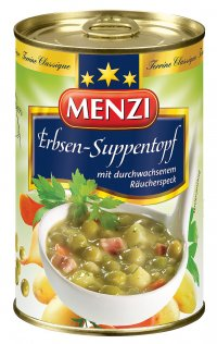 MENZI ERBSEN-SUPPE TOPF 400ML