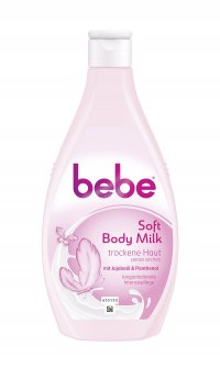 BEBE YOUNG CARE SOFT BODY MILK 400ML FLASCHE