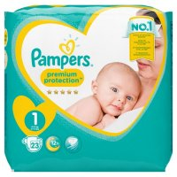 PAMPERS PREMIUM PROTECTION GROESSE 1 ; 23 STUECK