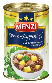 MENZI LINSEN-SUPPENTOPF 400ML