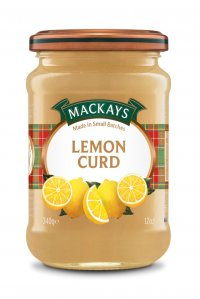 MACKAYS LEMON CURD 340G